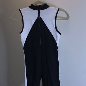 5ea46f452fc2 shama jade Other - Shaka Jade equinox jumpsuit in black and white